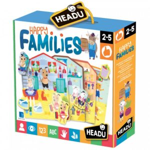 Headu Happy Families 2-5 yrs FrontPage | First Class Office Online Store