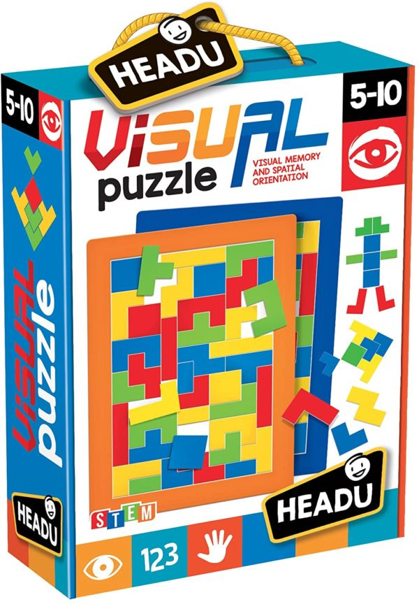 Headu Visual Puzzle 5-10 yrs FrontPage | First Class Office Online Store 2