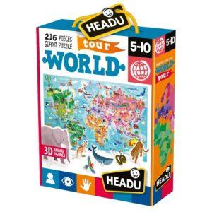 Headu World Tour 216 Piece 5-10 yrs FrontPage | First Class Office Online Store
