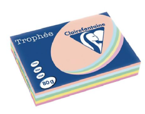 Coloured Paper A4 Pastel Assorted (5x100pk) Coloured Paper A4 | First Class Office Online Store
