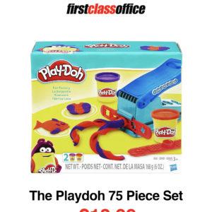 The Playdoh 75 Piece Set Dough   First Class Office Online Store 2